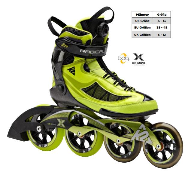 K2 Radical X Boa 2015