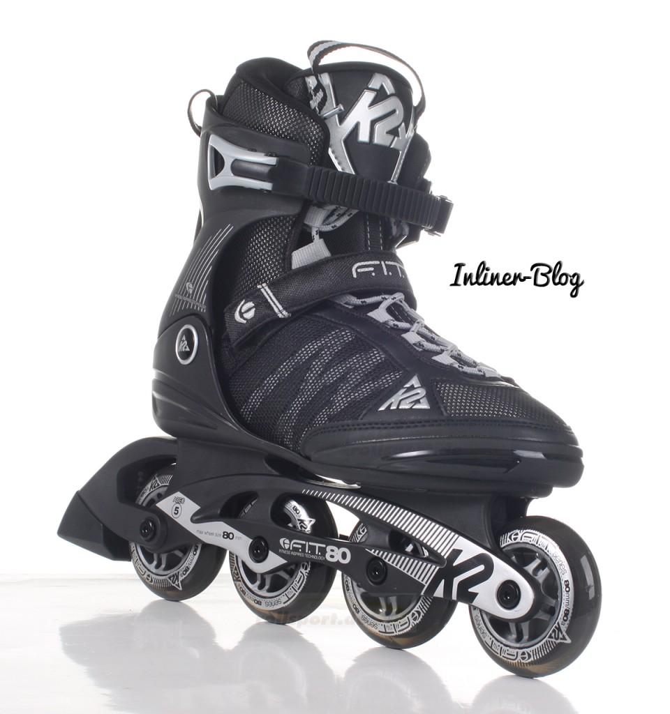 K2 Fit 80 Skates 2016