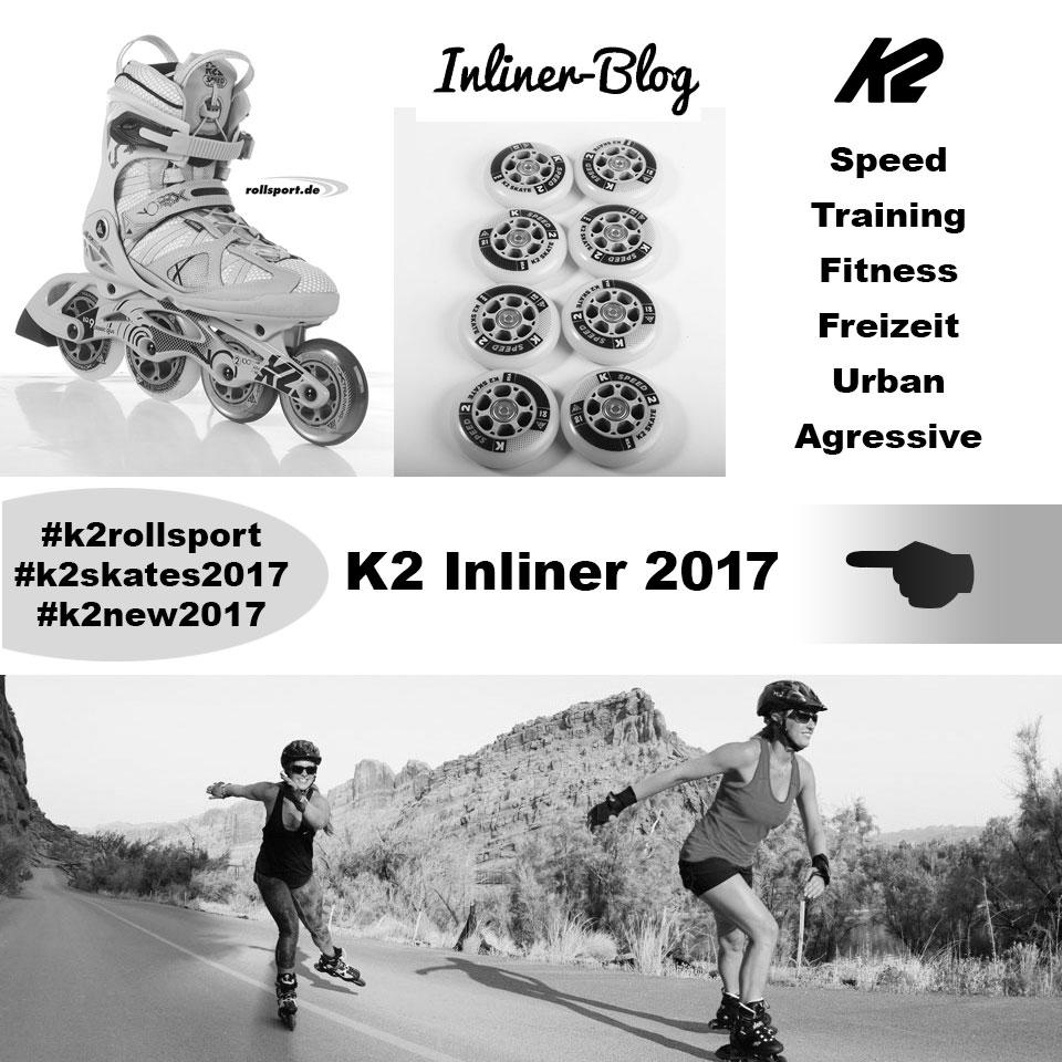K2 Inline Skates 2017