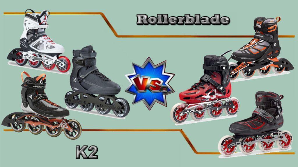 K2 vs. Rollerblade 100mm Inline Skates